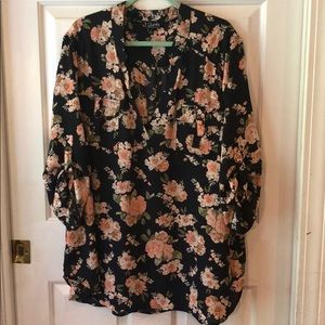 J for Justify Rose Blouse
